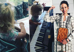 Agáta Prachařová vystavuje pekáč buchet! A dcerku nechává »ušpinit«