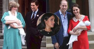 Vévodkyně Meghan bourá další tradice: Odmítá jít ve šlépějích Kate a Diany!