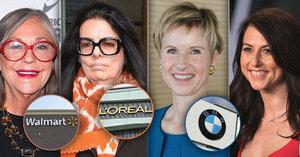 Pět nejbohatších žen světa! V téhle společnosti se ocitne manželka Bezose