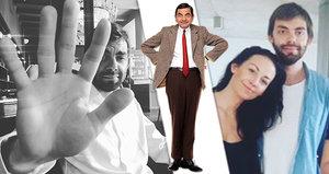 Agáta Prachařová ukázala bratra, který je dvojníkem Mr. Beana!
