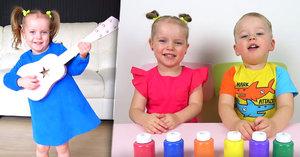 Gabi a Alex (4 a 5) jsou hvězdami internetu! Roztomilá videa jim vydělávají 30 milionů ročně