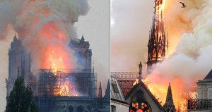 ONLINE: Zkáza katedrály Notre-Dame: 3 muži a 1 žena poslali 15 miliard, oprava potrvá 15 let
