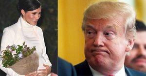 Vévodkyni Meghan dohání minulost! Proč se chce vyhnout setkání s Trumpem?