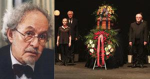 Pohřeb Jaroslava Kepky (†83): Nad rakví promluvili Maciuchová, Preiss a další