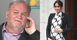 Vévodkyni Meghan po porodu zkontaktoval její nezdárný otec! Co jí vzkázal?