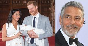 George Clooney odmítl jít za kmotra synovi Meghan! Proč zazdil Archieho?