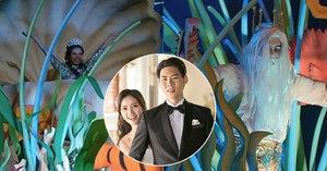 Šílená asijská svatba: Dědička a milovnice Malé mořské víly uspořádala podmořský obřad za miliony