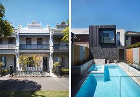 Za viktoriánskou fasádou se ukrývá nápadité moderní bydlení