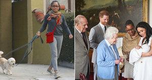 Vévodkyně Meghan už je na synka sama! Opustila ji její velká opora