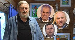 Ringo Čech: Staněk měl Fajta vyhodit z okna, Zeman dělá vše pro dobro národa