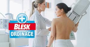 Až 40 % žen nechodí na mamograf, 1900 ročně umírá! Jak probíhá vyšetření krok za krokem?