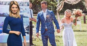 Půvabná moderátorka Novy se vdala za fotbalistu! Vzala si i jeho příjmení