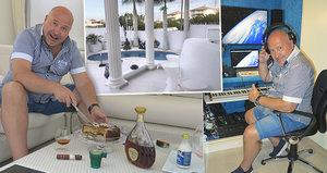 Luxusní vila Michala Davida na Kanárech: Hlídanější než Pentagon