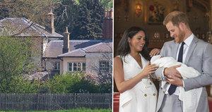 Harry a Meghan: Vila za 70 milionů, ale soukromý křest pro Archieho? Zapomeňte! vzkazují lidé
