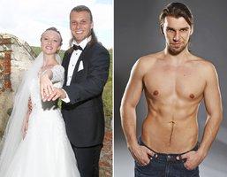 Svatba číslo 2 muzikálového krasavce Michala Bragagnola: Málem ji nestihnul!
