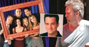 Matthew Perry slaví padesátiny: Smutný osud sympaťáka Chandlera z Přátel!