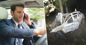 Hrozivý nárůst nehod: Řidiči za volantem telefonují a hrají hry!