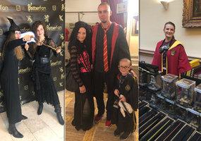 Kouzelníci přilétli na Vinohrady: Potterfestu se zúčastnilo 700 fanoušků světa Harryho Pottera
