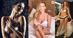 Přehlédnutí, nebo snaha provokovat? Andrea Verešová ukázala nahé tělíčko!