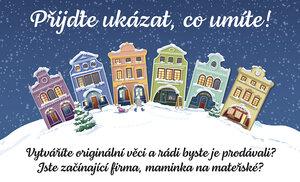 Ukažte se na Vánočním jarmarku Blesku a prodávejte své originální kousky