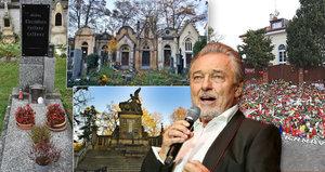Hrob Karla Gotta (†80): Kde bude Slavík pochován? Před lety se vyslovil!