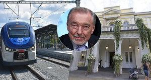 Za Gottem vlakem: České dráhy přidají 2000 míst, spoje posílí i RegioJet