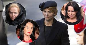 Ivana v tom není sama: 7 nejznámějších českých vdov, které prošly peklem