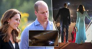 Kate a William v ohrožení: Cesta letadlem skončila nešťastně! Do cíle nedorazili