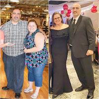 Shodila přes 80 kilo a teď motivuje i manžela! Obezitu si přiznala, až když se viděla na fotce
