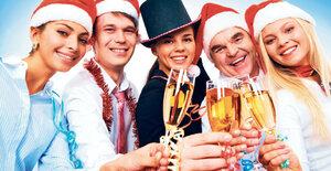 10 rad, jak přežít vánoční večírek