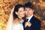 Manželství s Tomem Cruisem vydrželo pět let.