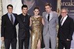 Herci představili nový a poslední díl Twilight ságy