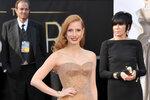 Jessica Chastain v šatech Armani Privé.