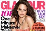 Kristen Stewart na titulce Glamour.
