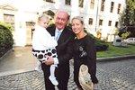 S dcerou a Frantičkem Janečkem