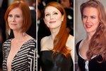 Slavné ženy, které jsou pyšné na svoje zrzavé hřívy.