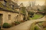 Bibury, hrabství Gloucestershire, Anglie
