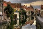 Bruggy, západní Belgie