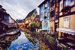 Colmar, severovýchodní Francie