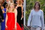 Vytahané oblečení a žádný make-up: Kašle Jennifer Aniston na svůj vzhled?
