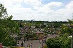 Pohled na Legoland z vláčku.