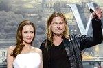 Angelina a Brad v roce 2013