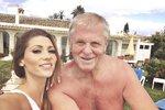 Tereza Kerndlová s tatínkem