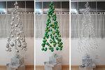 Vánoční stromek z polštářů nebo ozdobiček? Nechte se inspirovat!