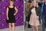 Příšerná proměna zpěvačky Kelly Clarkson: Tloustne ze stresu!
