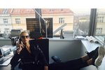 Karolína Kurková je v Praze! Přijela šéfovat prestižnímu časopisu