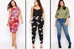 Jarní novinky z plus size kolekcí: Květované šaty i kalhoty do velikosti 64!