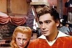 Josef Zíma jako princ Radovan v pohádce Princezna se zlatou hvězdou z roku 1959, kde mu bylo 27 let.