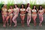 Boj proti vychrtlým modelkám: Boubelky ukázaly skutečná těla!