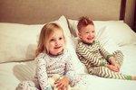 Děti Tori Spelling, dcera Hattie a syn Finn